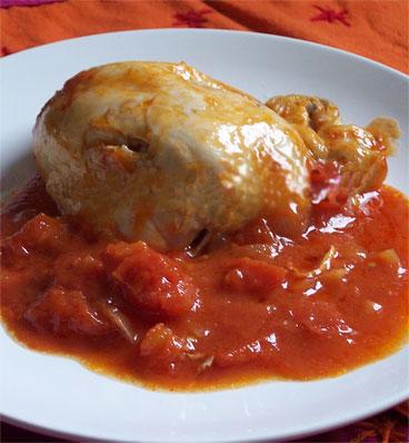 Recette poulet la recette du poulet marengo - Poulet marengo recette ...
